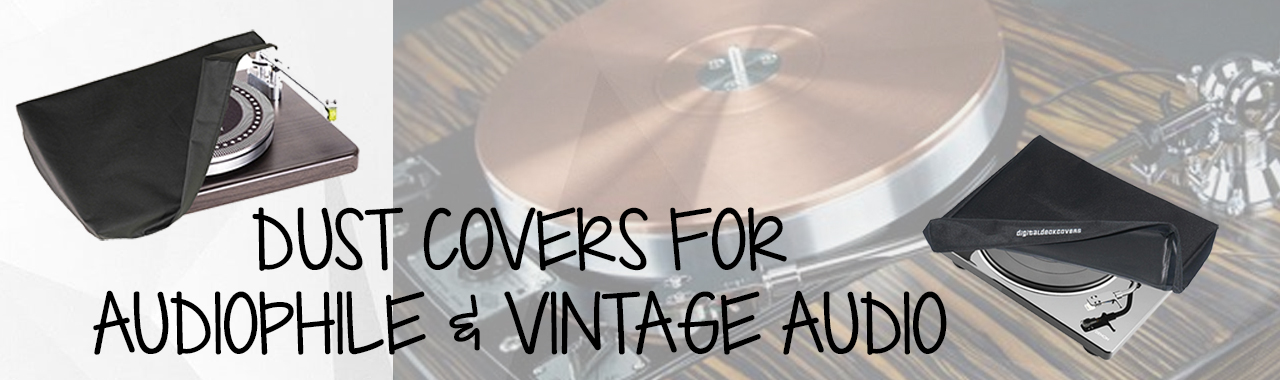 Dust Covers for Audiophile and Vintage Turntables