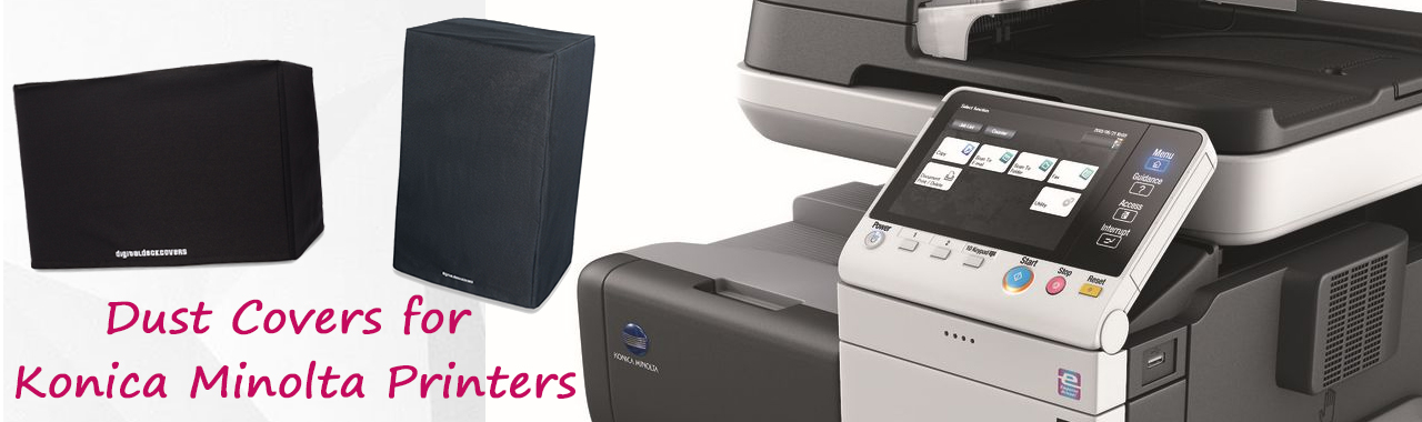 Dust Covers for Konica Minolta Printers