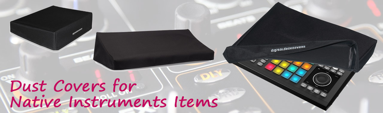 Dust Covers for Native Instruments Items