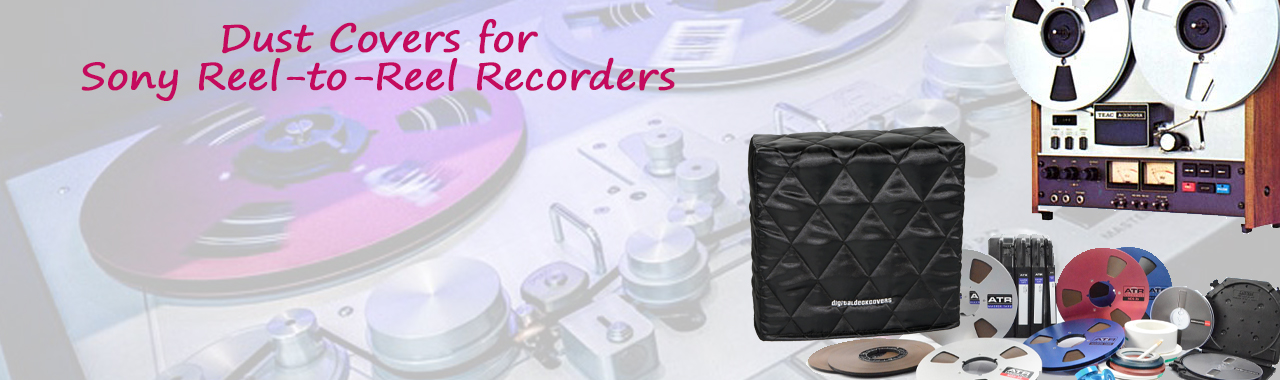 Dust Covers for Sony Reel-to-Reel Recorders