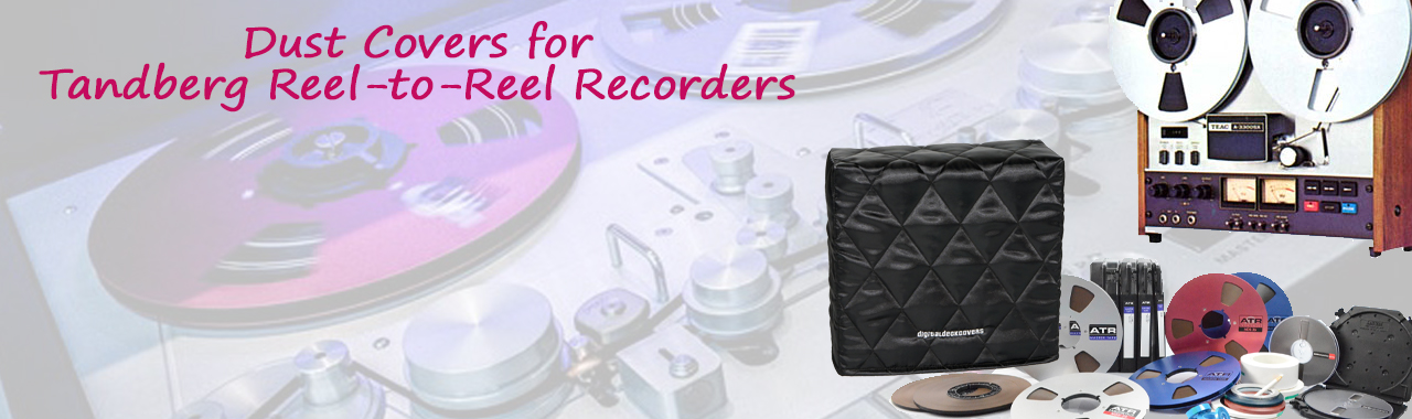 Dust Covers for Tandberg Reel-to-Reel Recorders