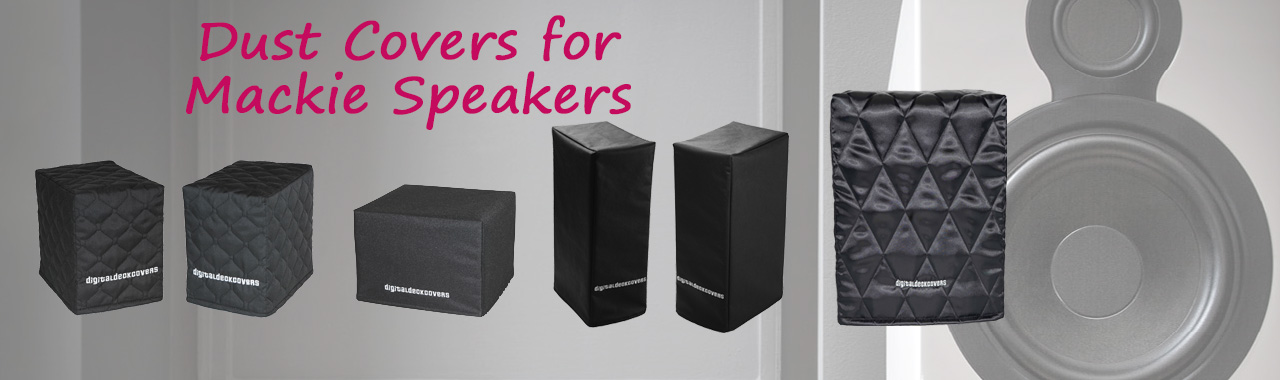 Dust Covers for Mackie Speakers