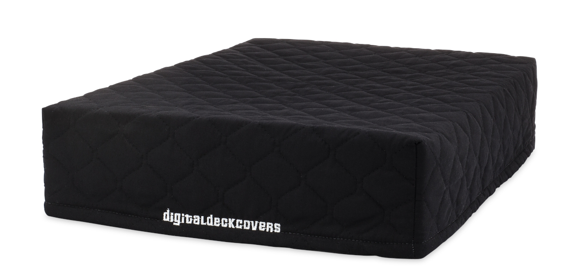 Quilted Black Cotton
